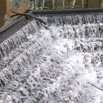 Mill stream test shot
